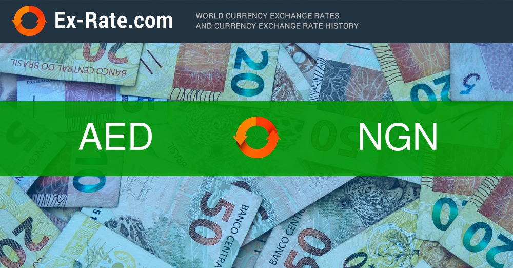 How Much Is 1000 Dirhams Aed To Ngn According The Foreign Exchange Rate For Today