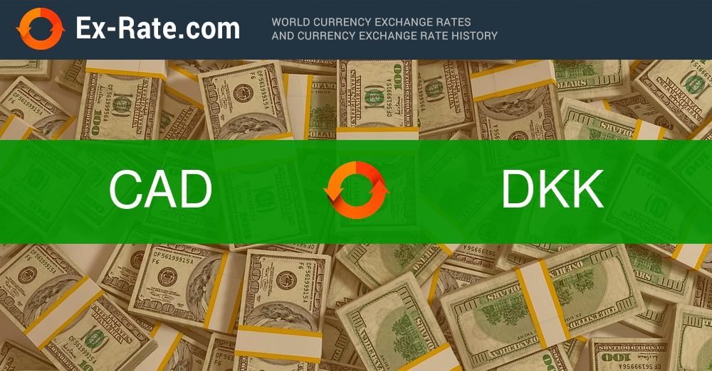 How much is 3 dollars CDN$ (CAD) to kr  (DKK) according to the
