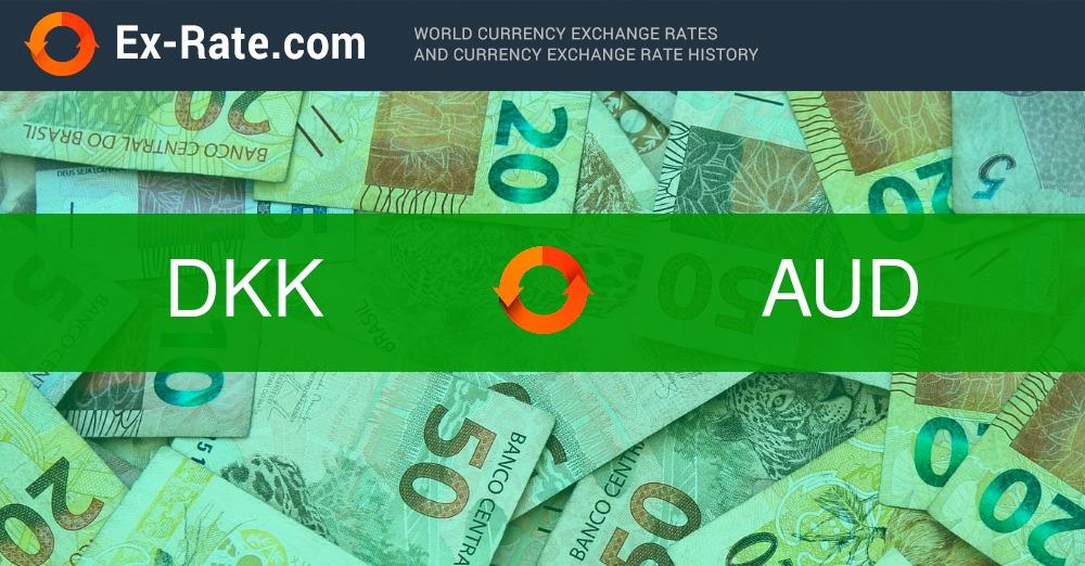 convert dollars to dkk