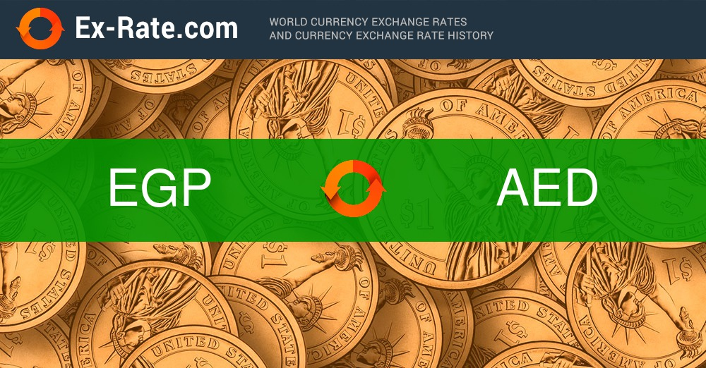 How Much Is 45 Pounds Egp To Aed According The Foreign Exchange Rate For Today