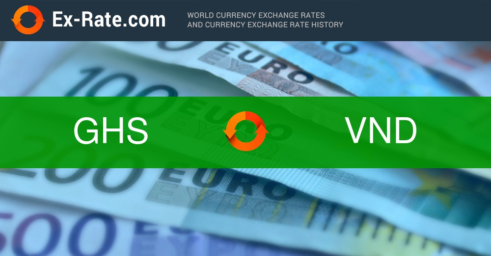 How much is 50000 cedis GH₵ (GHS) to ₫ (VND) according to