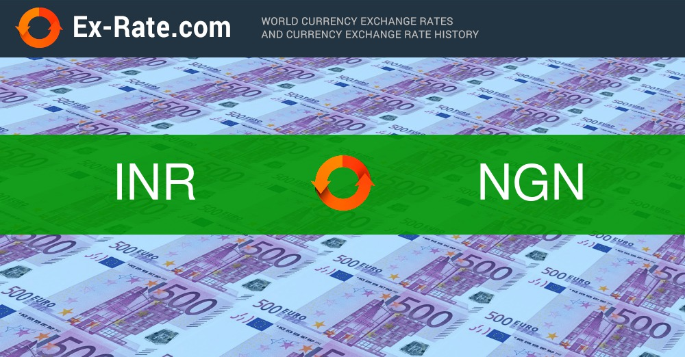 How Much Is 1000 Rupees Rs Inr To Ngn According To The Foreign Exchange Rate For Today