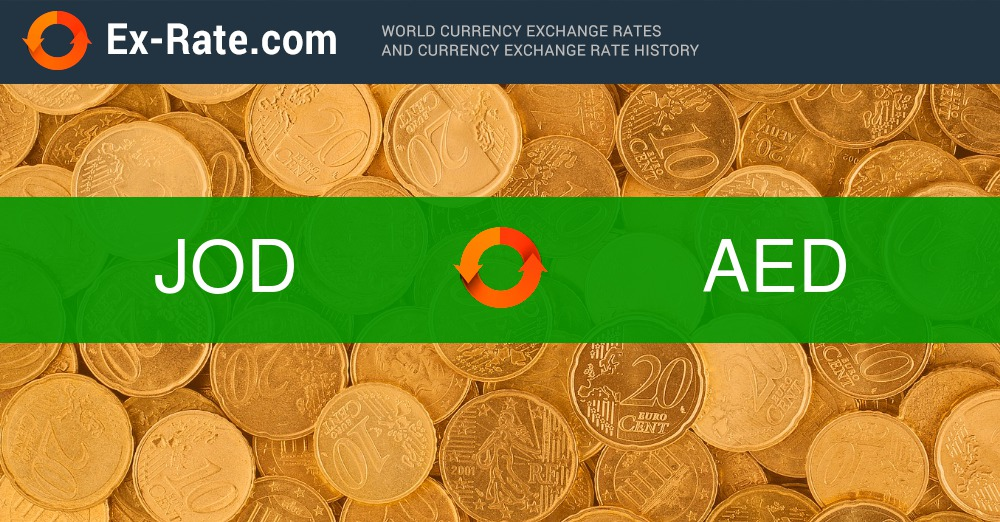 How Much Is 100 Dinars دينار Jod To Aed According The Foreign Exchange Rate For Today