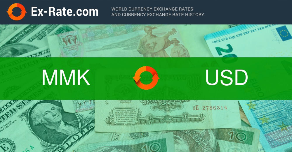 How Much Is 100 Kyats K Mmk To Usd