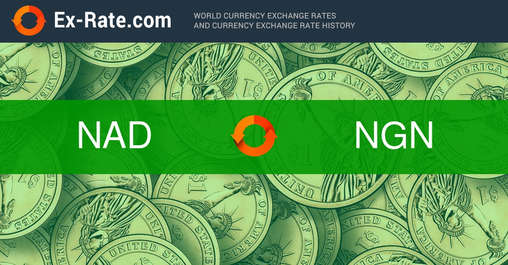 How Much Is 3 Dollars Nad To Ngn According The Foreign Exchange Rate For Today