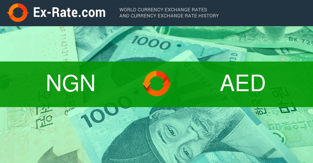 How Much Is 50000 Naira Ngn To Aed According The Foreign Exchange Rate For Today