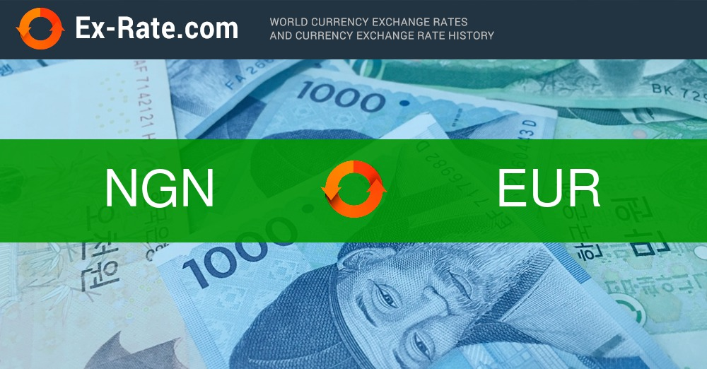How Much Is 20000 Naira Ngn To Eur According The Foreign Exchange Rate For Today