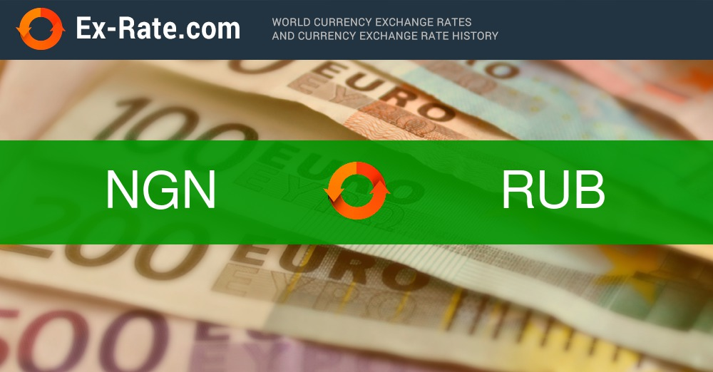 How Much Is 100000 Naira Ngn To руб Rub According The Foreign Exchange Rate For Today