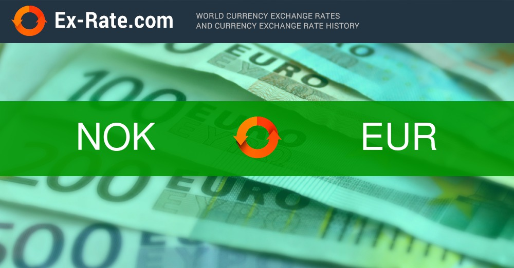 How Much Is 20000 Kroner Kr Nok To Eur According To The Foreign Exchange Rate For Today