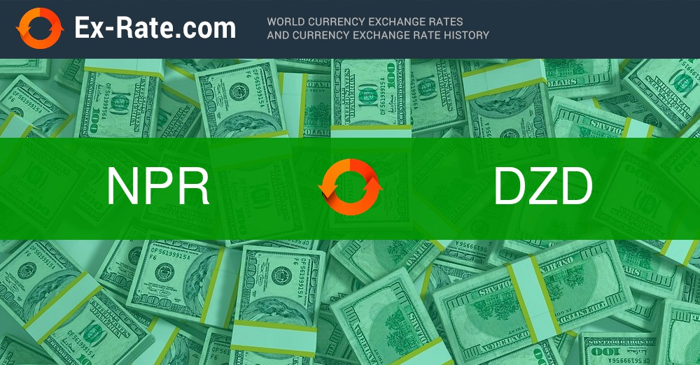 How much is 2000 rupees Rs. (NPR) to د.ج (DZD) according to the foreign  exchange rate for today