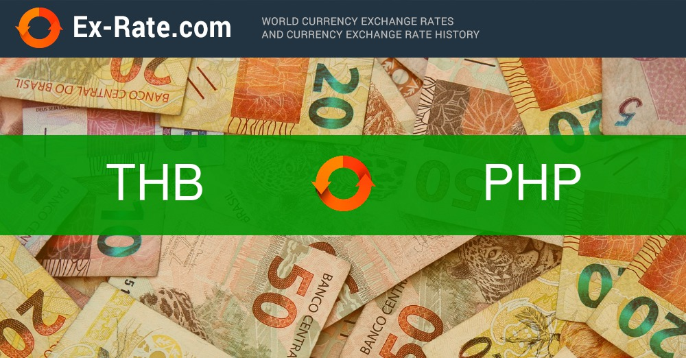 How Much Is 100 Bahts Thb To P Php According To The Foreign Exchange Rate For Today