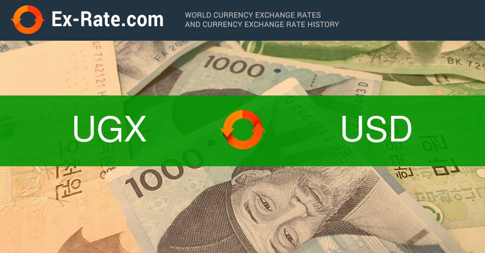 How Much Is 200000 Shillings Ush Ugx To Usd According The Foreign Exchange Rate For Today