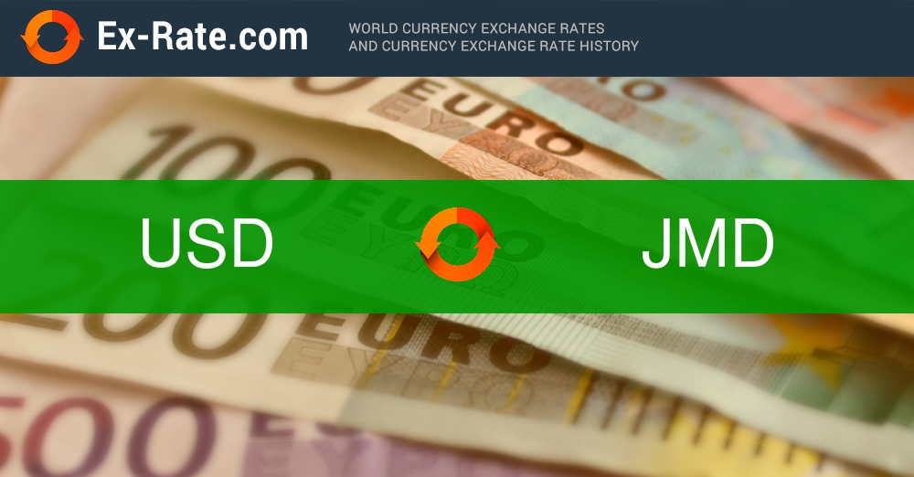 How Much Is 160 Dollars Usd To Jmd According The Foreign Exchange Rate For Today