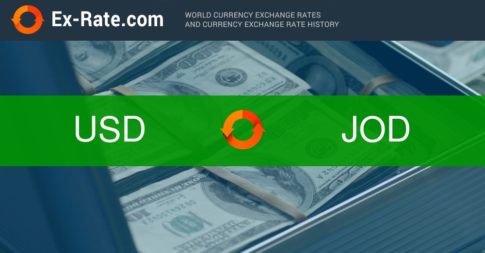 How Much Is 10000 Dollars Usd To دينار Jod According The Foreign Exchange Rate For Today