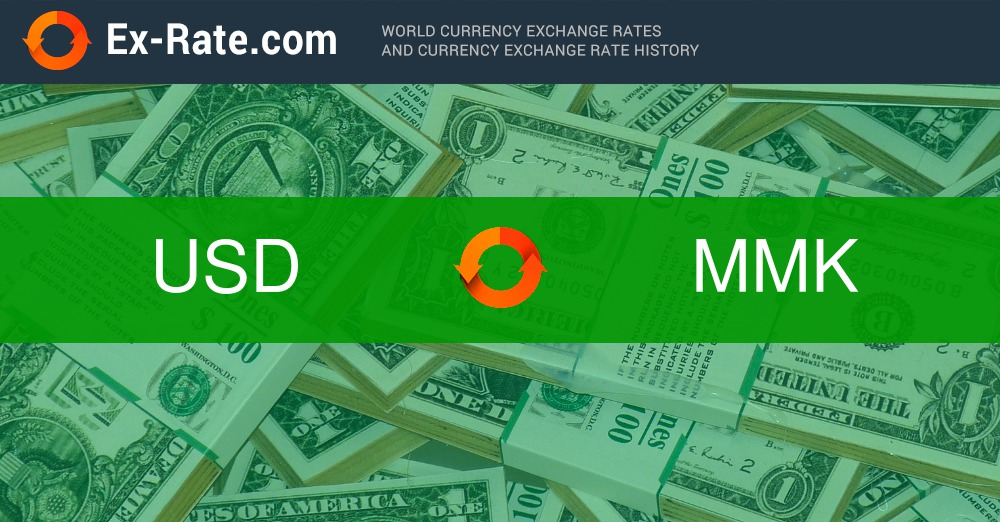 How Much Is 40000 Dollars Usd To K Mmk According The Foreign Exchange Rate For Today