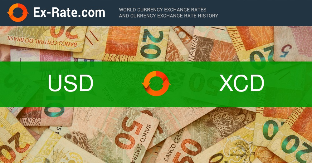 How Much Is 181 Dollars Usd To Xcd According The Foreign Exchange Rate For Today