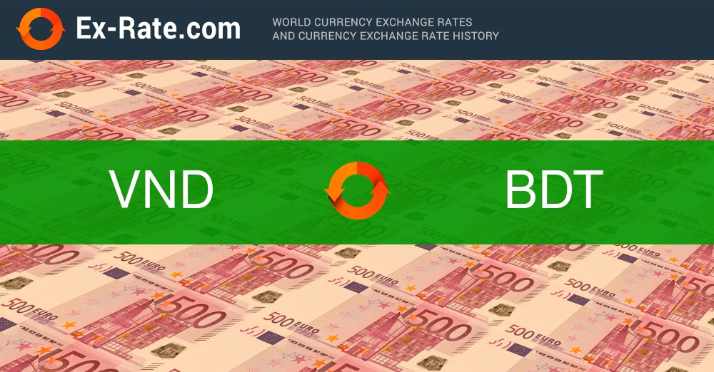 How Much Is 200000 Dong Vnd To Taka Bdt According The Foreign Exchange Rate For Today