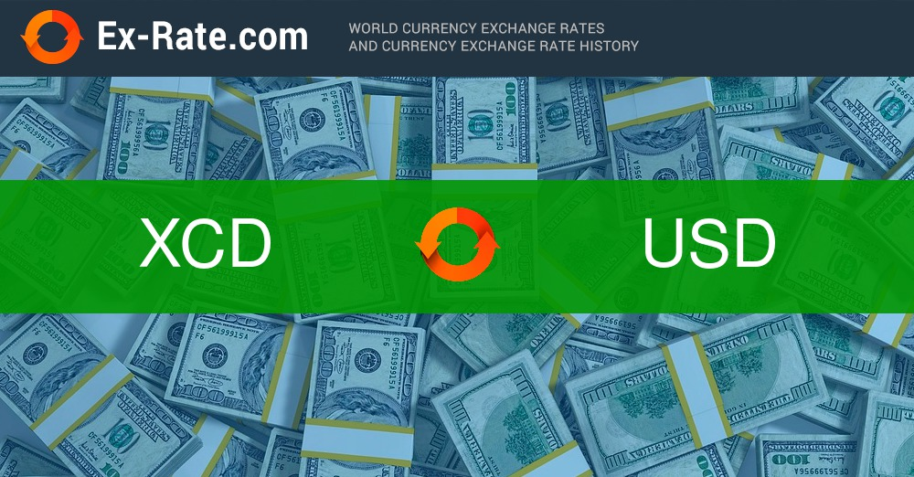 How Much Is 2000000 Dollars Xcd To Usd According The Foreign Exchange Rate For Today